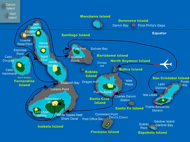 Sea Star Journey C itinerary