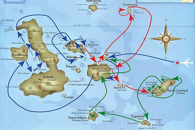 Seaman Journey F1 Itinerary