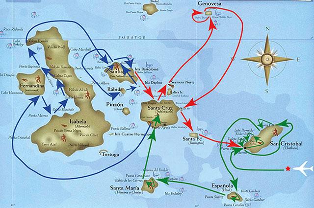 Seaman Journey F2 itinerary