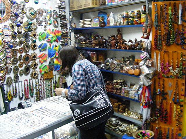 Craft market quito
