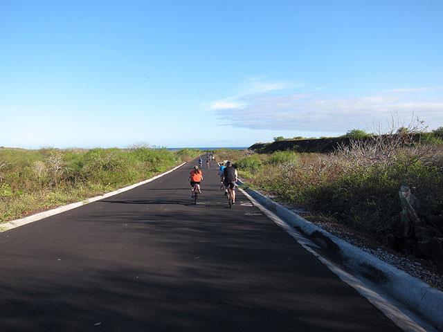 biking galapagos islands