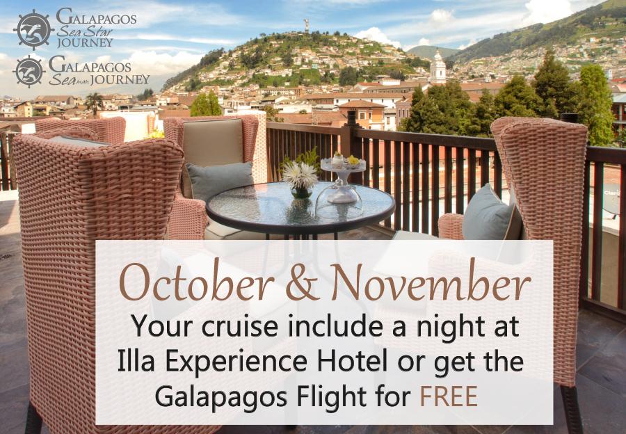 Galapagos Cruises Last Minutes October and November