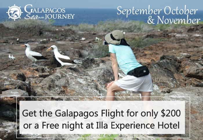 Galapagos Cruise Deals September October and November