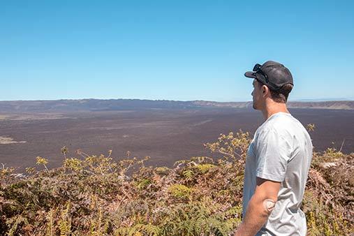 Sierra Negra Volcano Galapagos Islands