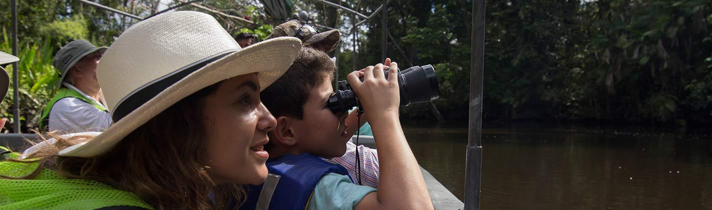 Amazon cruise manatee with Galapagos Tour