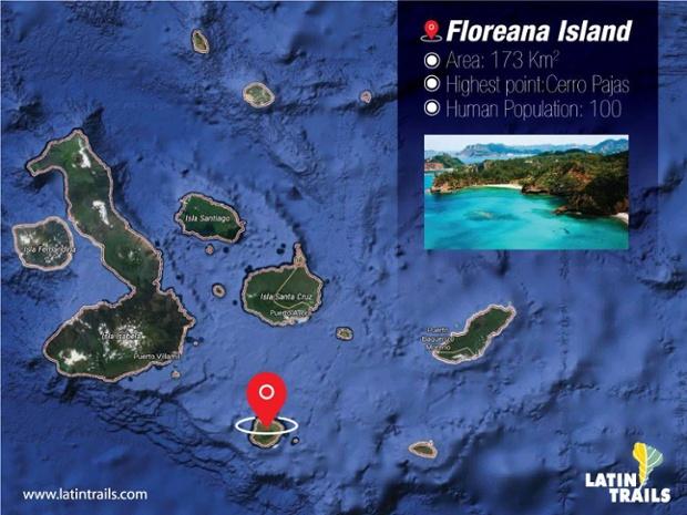 Floreana Island   Map
