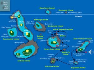 Floreana Island Route
