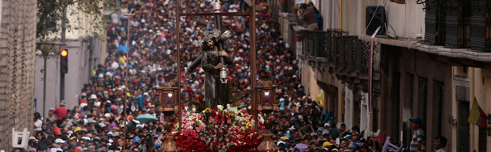 How is Holy Week in Ecuador Celebrated?