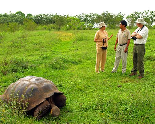 Seniors tours to Galapagos