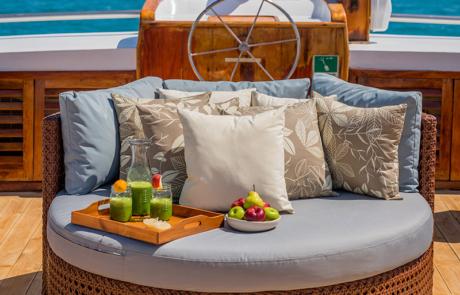Galapagos Sea Star Journey | food
