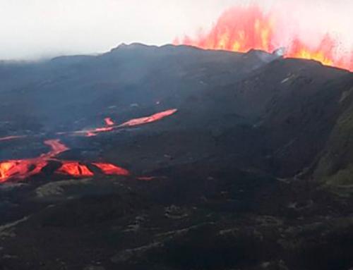 Sierra Negra Volcano Erupted in Isabela Island