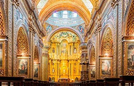 Quito church | La compañia