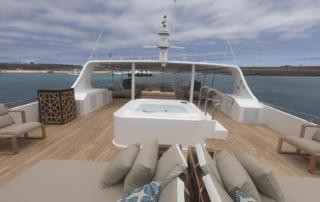 Sundeck | Galapagos Cruise
