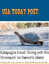 Usa Today Post  Galapagos